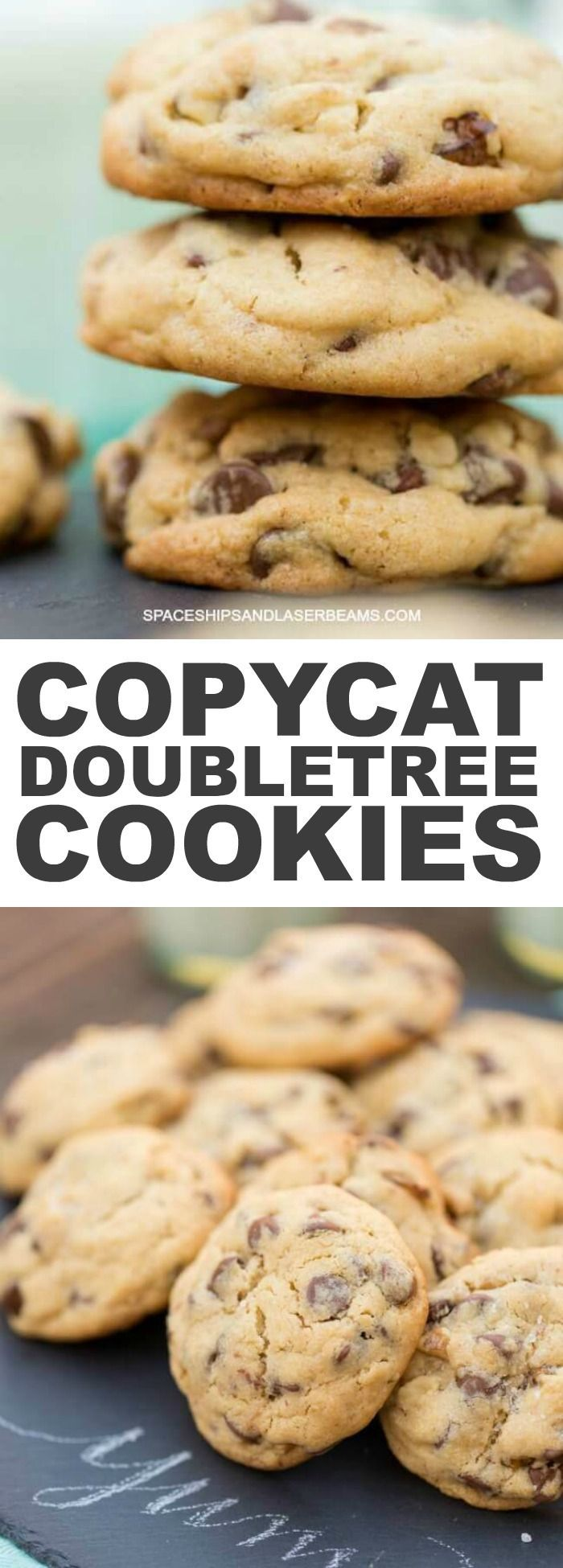 These are the most amazing Hilton Doubletree Chocolate Chip Cookies
