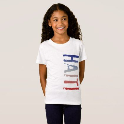 Haiti T-Shirt - #customize create your own personalize diy
