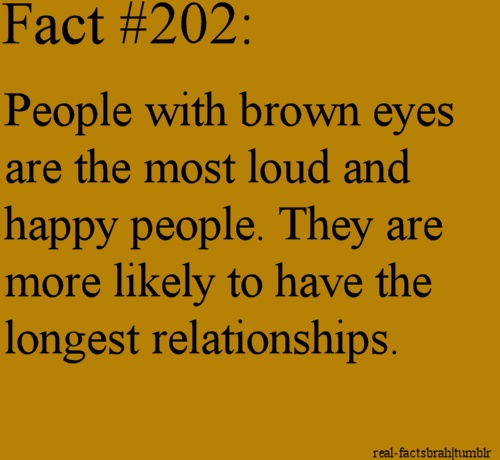 Brown Eyed Girl Quotes Brown Eyes Facts People With