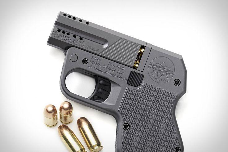 Pocket pistol.