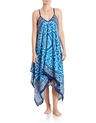 T&C Theodora & Callum Blue Anguilla Dress Women's Blue