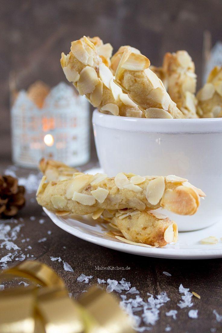 Leckere Mandel-Stängli mit Marzipan für Weihnachten | malteskitchen.de