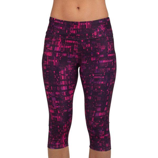 Jockey City Lights Judo Leggings ($36) ❤ liked on Polyvore featuring activewear, activewear pants, jockey activewear and jockey sportswear