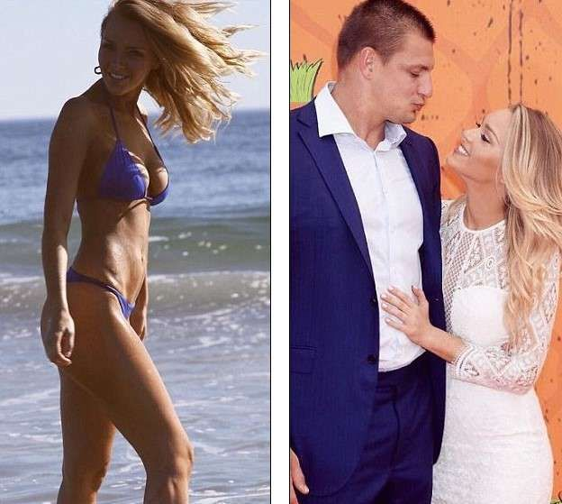 Rob Gronkowski's girlfriend Camille Kostek pictures