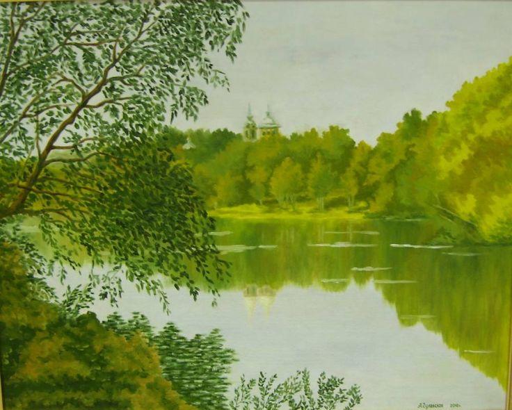 Картины (живопись) : Тарханы. Осень. Автор Анжелика Гулавская