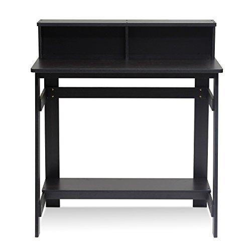 Furinno 14054EX Simplistic a Frame Computer Desk Espresso