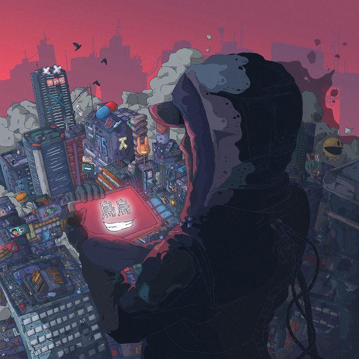 Atrey _ cover art, Tomas Ciger Eniac on ArtStation at https://www.artstation.com/artwork/WnroJ