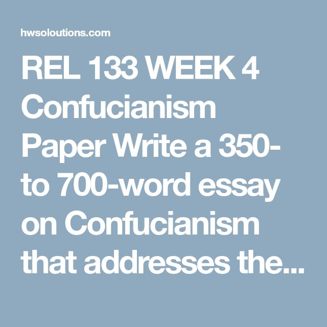 mas de ideas increibles sobre apa guidelines en  rel 133 week 4 confucianism paper write a 350 to 700 word essay on