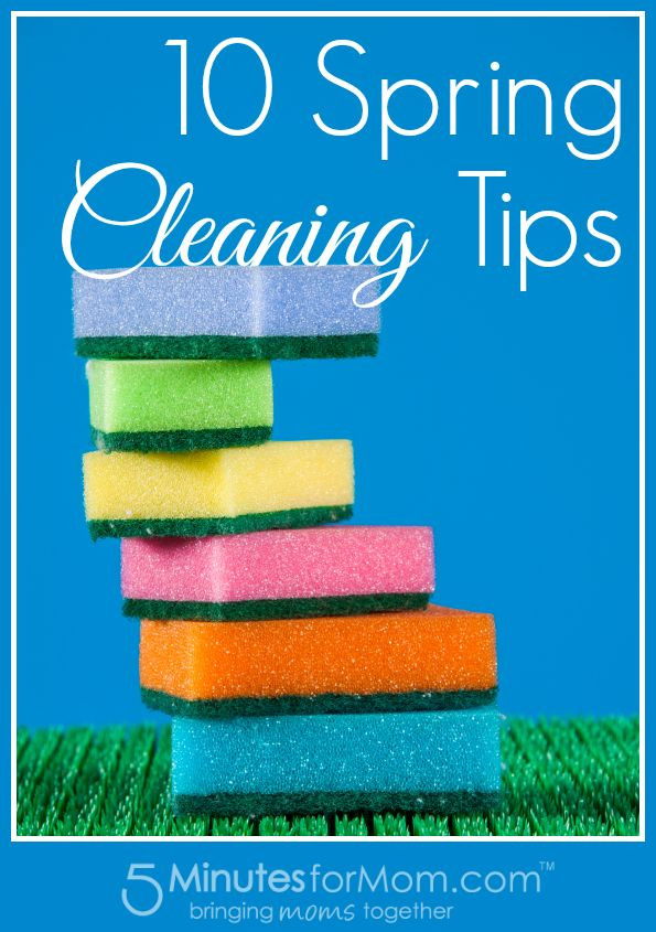 10 Spring Cleaning TipsTips Pract, Cleaning Ideas, Cleaning Tricks, Cleaning House, Cleaning Easier, Cleaning Organic, Cleaning Tips, 10 Spring Cleaning