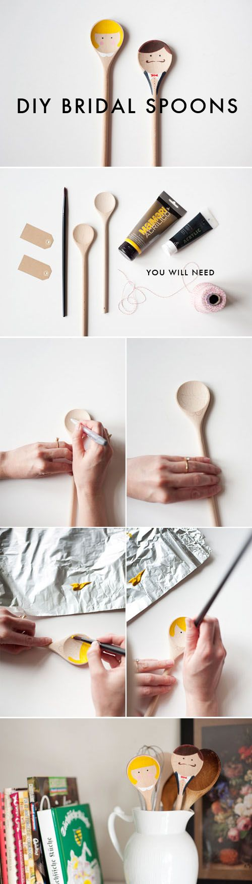 wood spoon ——DIY创意婚礼勺子