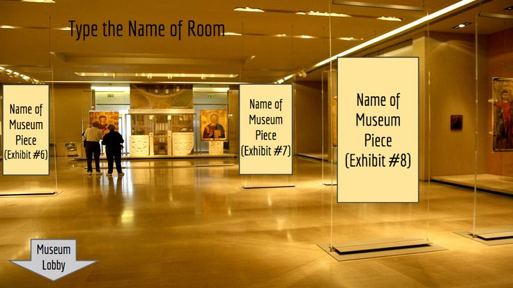 Museum template for Google Slides
