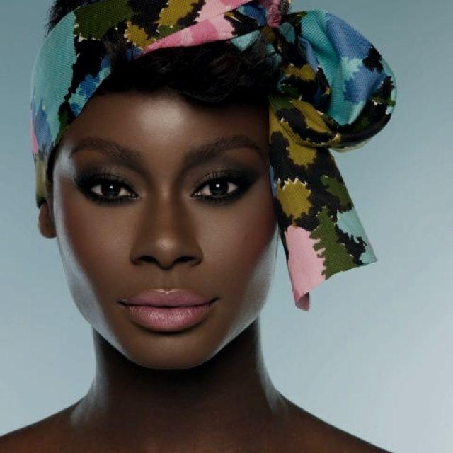 yellow lipstick dark skin - photo #28