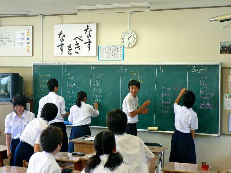 Practicing Japanese on the JET Program Teaching English in Japan
