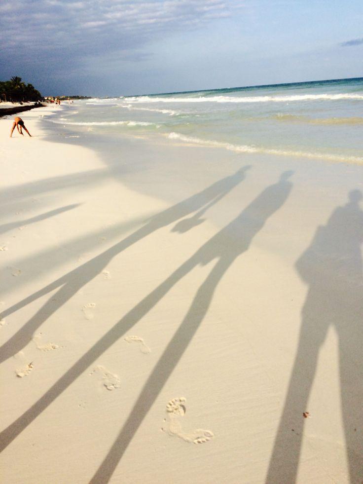Tulum beach walk...