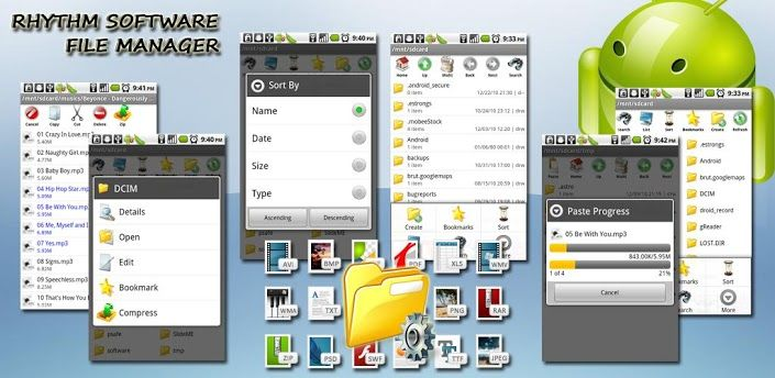 Best File Manager on Android!  Full featured file manager on Android, fresh UI design and user friendly functions!