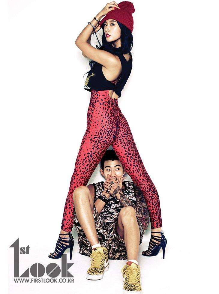 Jay Park and Clara Lee
