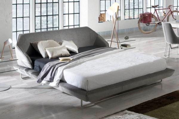 Mobili sma ~ Sma mobili bolero modern leather effect bed optional storage base