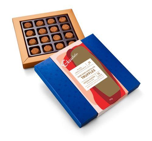Cocoa Dusted Truffles #truffles #chocolate