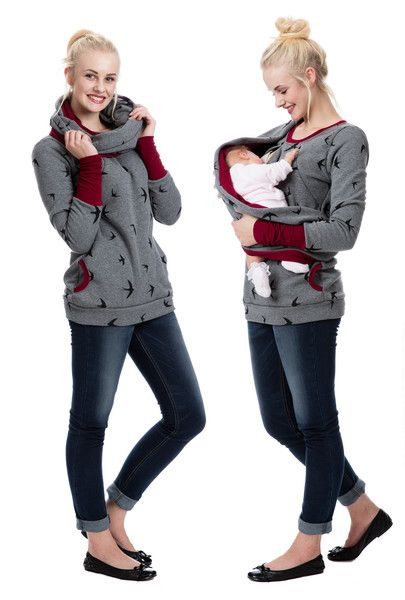 **3in1 Umstandspullover Stillpullover WINGS of LOVE | GoFuture.co.uk**  Wollen wir nicht alle mal frei wie ein Vogel sein? Das Muster des WINGS of LOVE spielt mit diesem Gedanken. So leicht und...