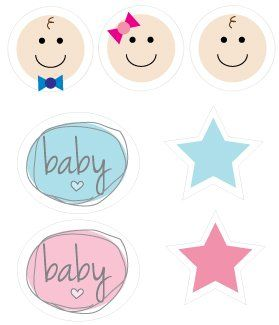 free printable baby shower graphics