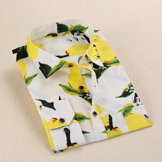 Mens Shirts Long Sleeve Print Floral Shirt Men Slim Fit Shirts Casual  Hawaiian Shirt   Men s Fashion Collections   Shirts, Casual shirts, Floral  print shirt fdc6bb5cd2b4