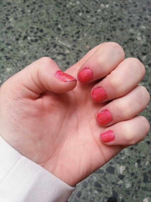 Miss Sporty glitter oranje/perzik