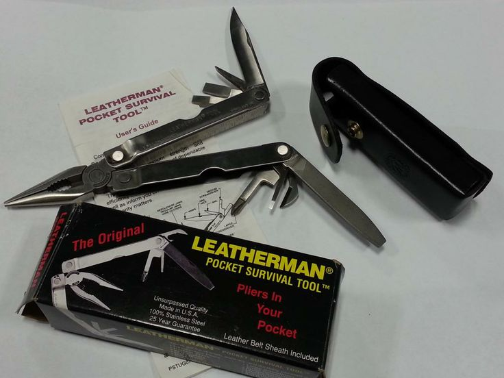 Old Leatherman in new condition. | EDC Items