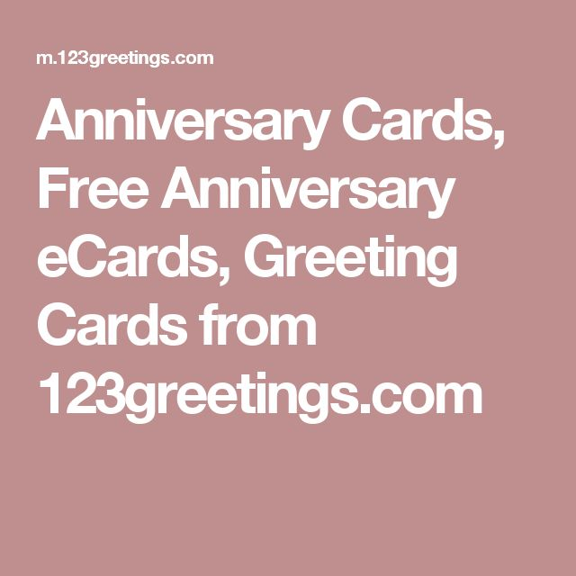 Anniversary Cards, Free Anniversary eCards, Greeting Cards from 123greetings.com
