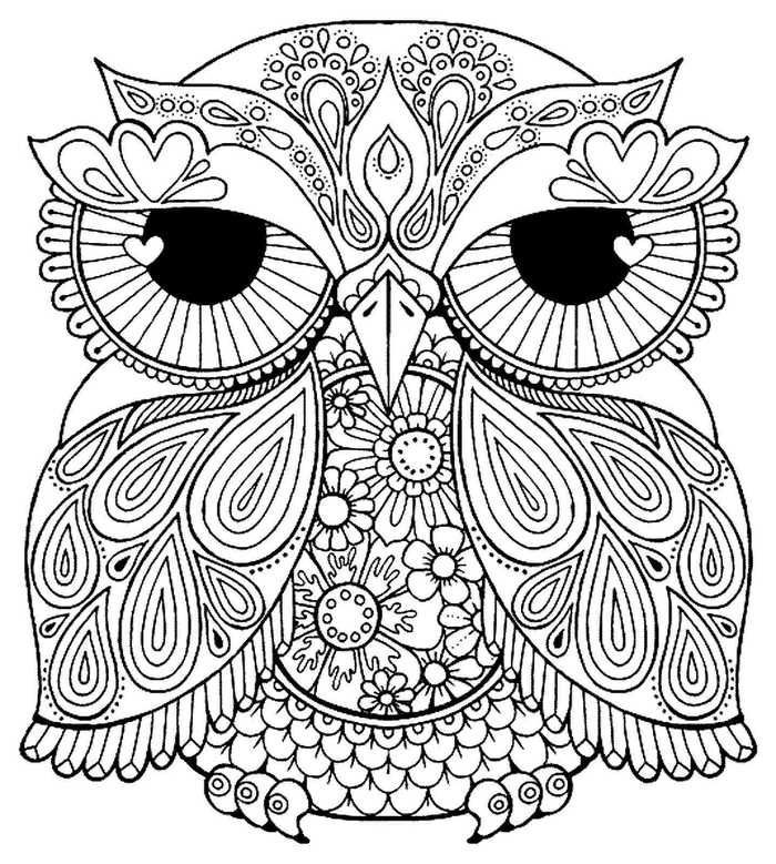 Coloring Pages For Teenage Printable Coloringsheets Owl Coloring Pages For Teens Coloring Pages F Vogel Malvorlagen Malvorlage Einhorn Herbst Ausmalvorlagen