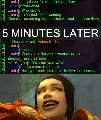 I had a productive lunchtime login today! #worldofwarcraft #blizzard #Hearthstone #wow #Warcraft #BlizzardCS #gaming