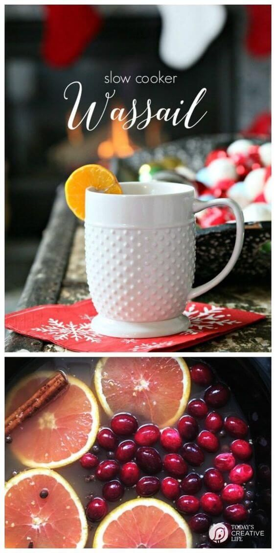 cool Slow Cooker Wassail