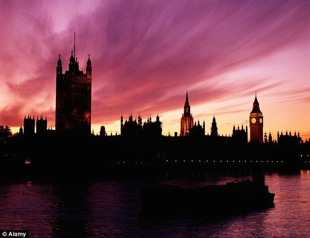 London calling: The capital accounts for 54 per cent of all UK inbound tourism...