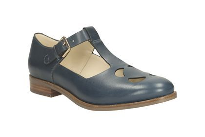 Orla Bobbie (Navy or Red) || Clarks shoes || £120