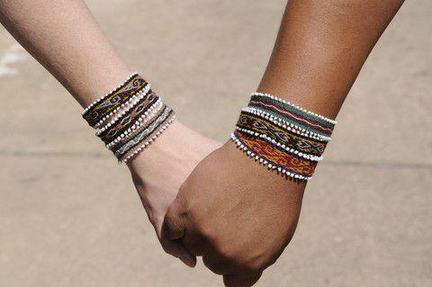 Friendship Bracelets | One Earth Get them here: http://www.one1earth.com/#_a_lynzeysurgenor