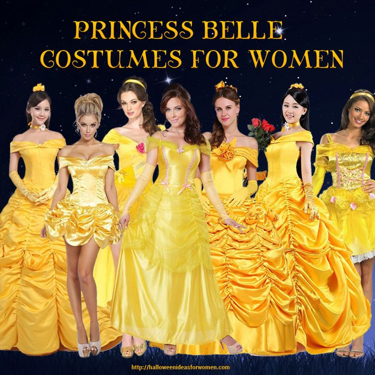 Stunning #BeautyAndTheBeast #PrincessBelleCostumes! Anyone of these gorgeous ballgowns would make you a BIG Hit at your next #Halloween Costume Party! Princess Belle Costumes For Women   http://halloweenideasforwomen.com/princess-belle-costumes-for-women/
