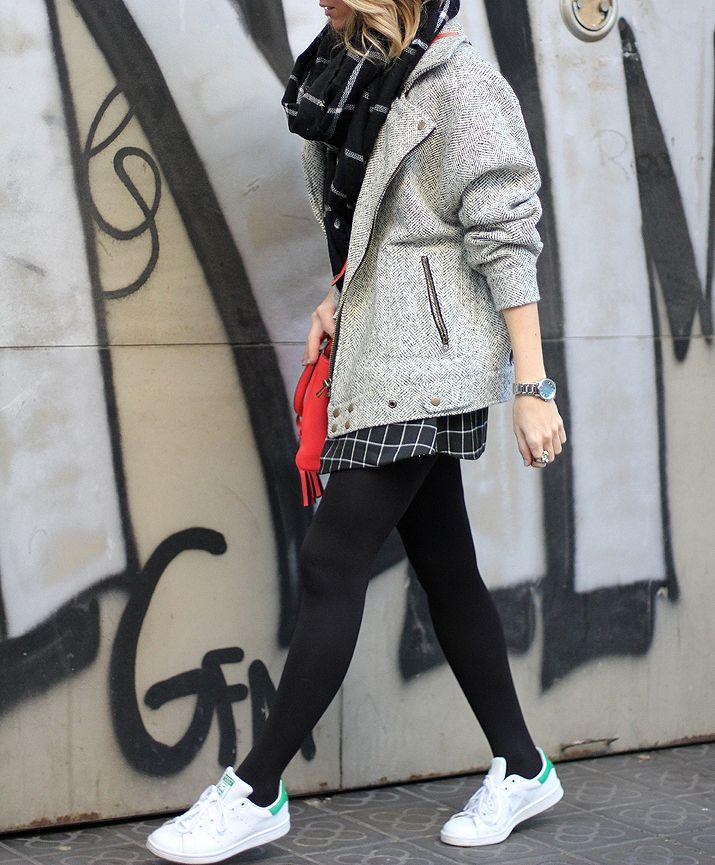 STAN SMITH ADIDAS | OUTFIT # 2 - Fashion Blog Barcelona | Mes Voyages à Paris