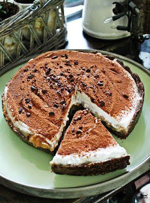 Dziki Naśladowca   smacznie   zdrowo   rozwojowo: RAW BANOFFEE PIE   wegańskie, bez cukru, przepyszne!