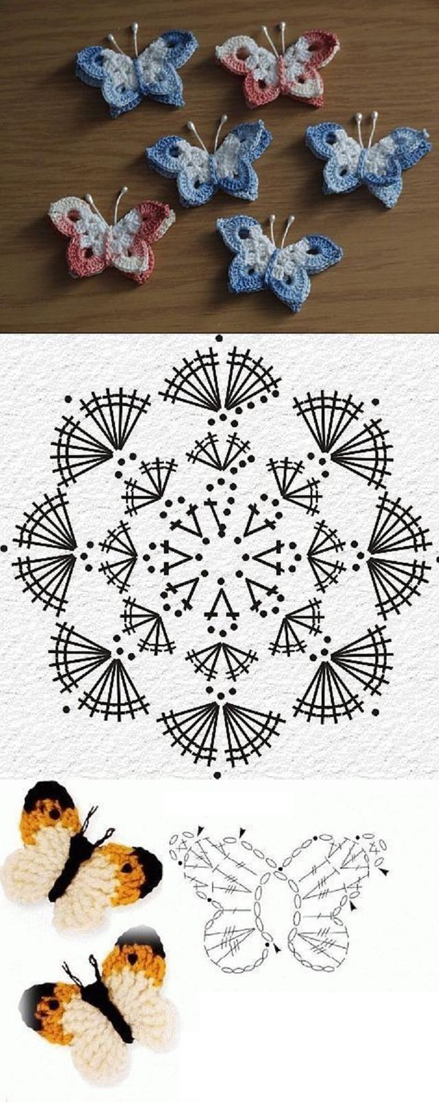 Flores em crochê: Todas com gráfico