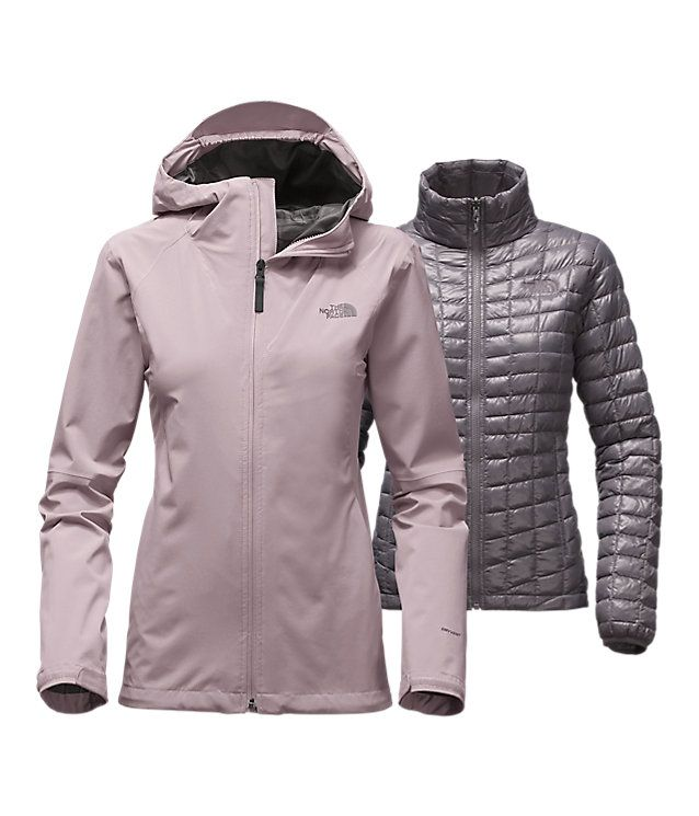 The North Face Triclimate 3 In 1 >> WOMEN'S THERMOBALL™ TRICLIMATE® JACKET | United States 3-1-jacket | Rugged | Pinterest ...