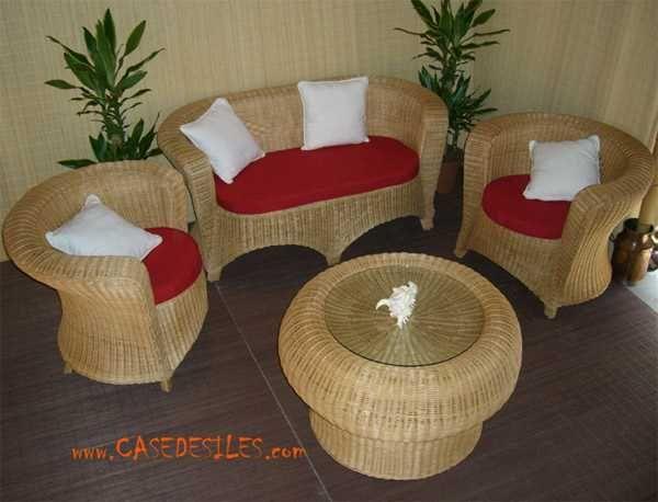Table Basse Rotin Roundia Ile Maurice Outdoor Furniture Sets Furniture Layout Outdoor Decor