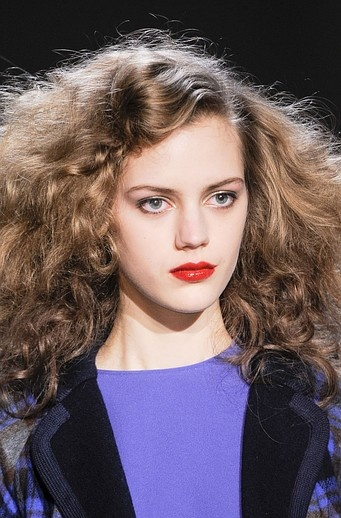 Tomato red lips at Marc by Marc Jacobs