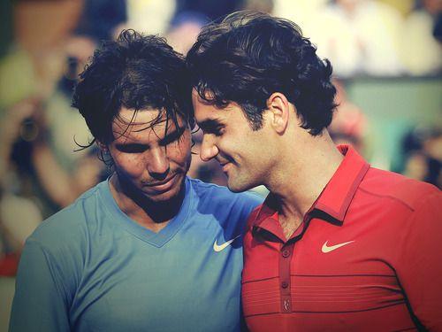 Roger Federer. Rafael Nadal. Roland Garros 2011.