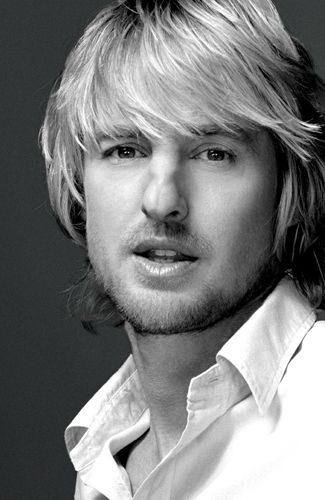 Owen Wilson - I usually am not fond of blonde men, but I'll make an exception for him.