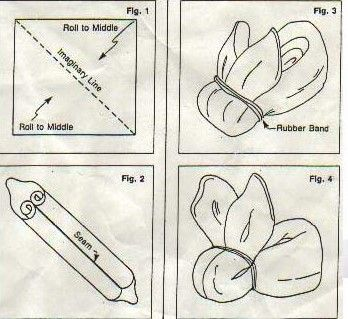 Portal de Manualidades: Conejitos para decorar un baby shower
