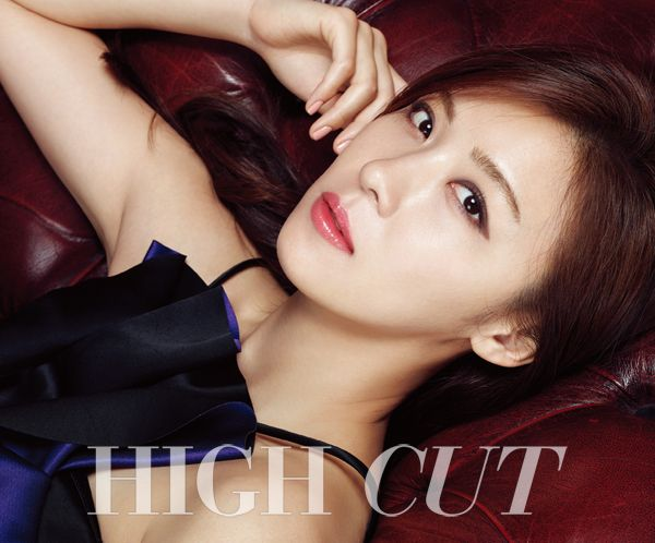 Ha Ji Won in High Cut Vol. 154 Look 1