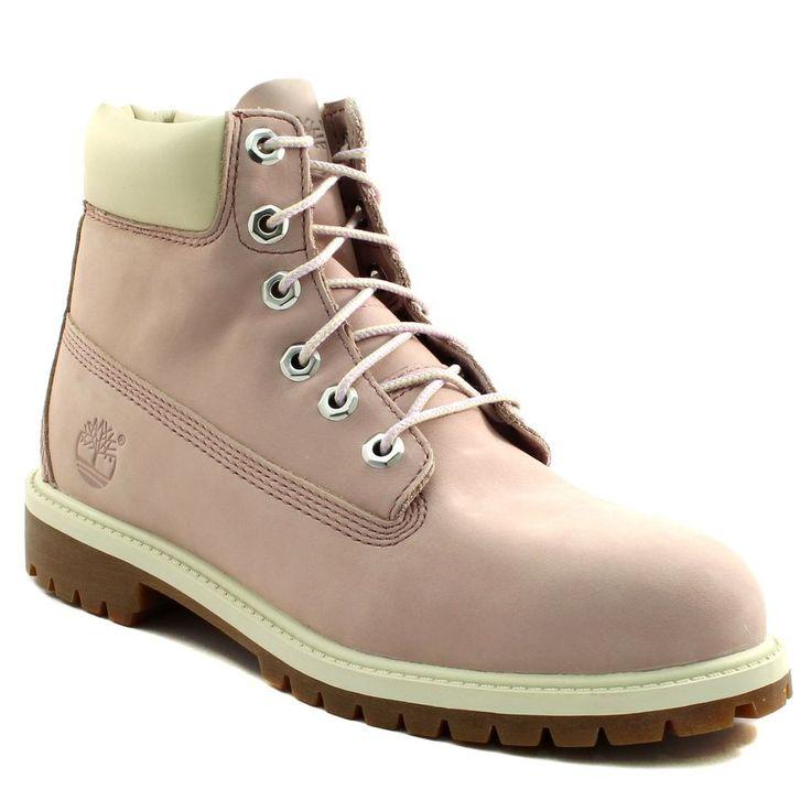 672A TIMBERLAND 6IN PREMIUM WP ROSE www.ouistiti.shoes le spécialiste internet  #chaussures #bébé, #enfant, #fille, #garcon, #junior et #femme collection automne hiver 2016 2017