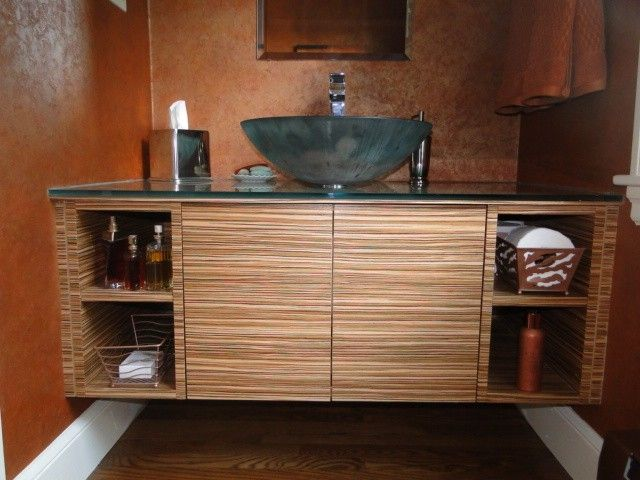 17 Best Images About Cabinets Zebra Wood On Pinterest Contemporary Bathrooms Master Bath