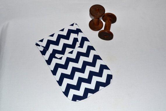 Chevron Diaper Clutch - Chevron Diaper Bag Organizer Diaper Holder by Sweet Stitches Design
