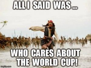 There are few things funnier than memes dug from the Internet, we think. There's something special about well picked pictures with witty comments and we always have fun making collections of those. It's especially fun to collect the memes dedicated to the FIFA World cup, because as you may have