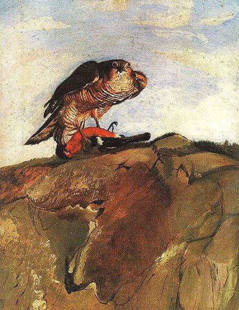 Csontváry Tivadar Kosztka / Bird of Prey